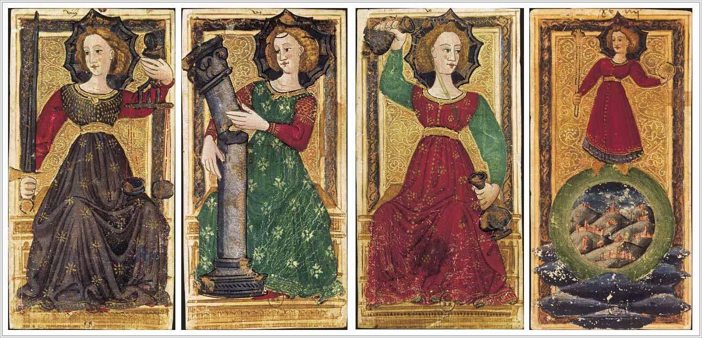De vier kardinale deugden