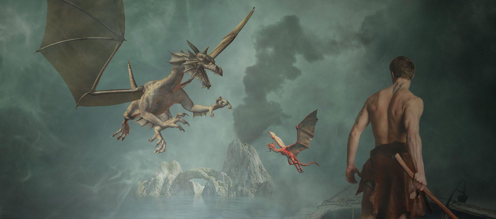 Vechten tegen de draak