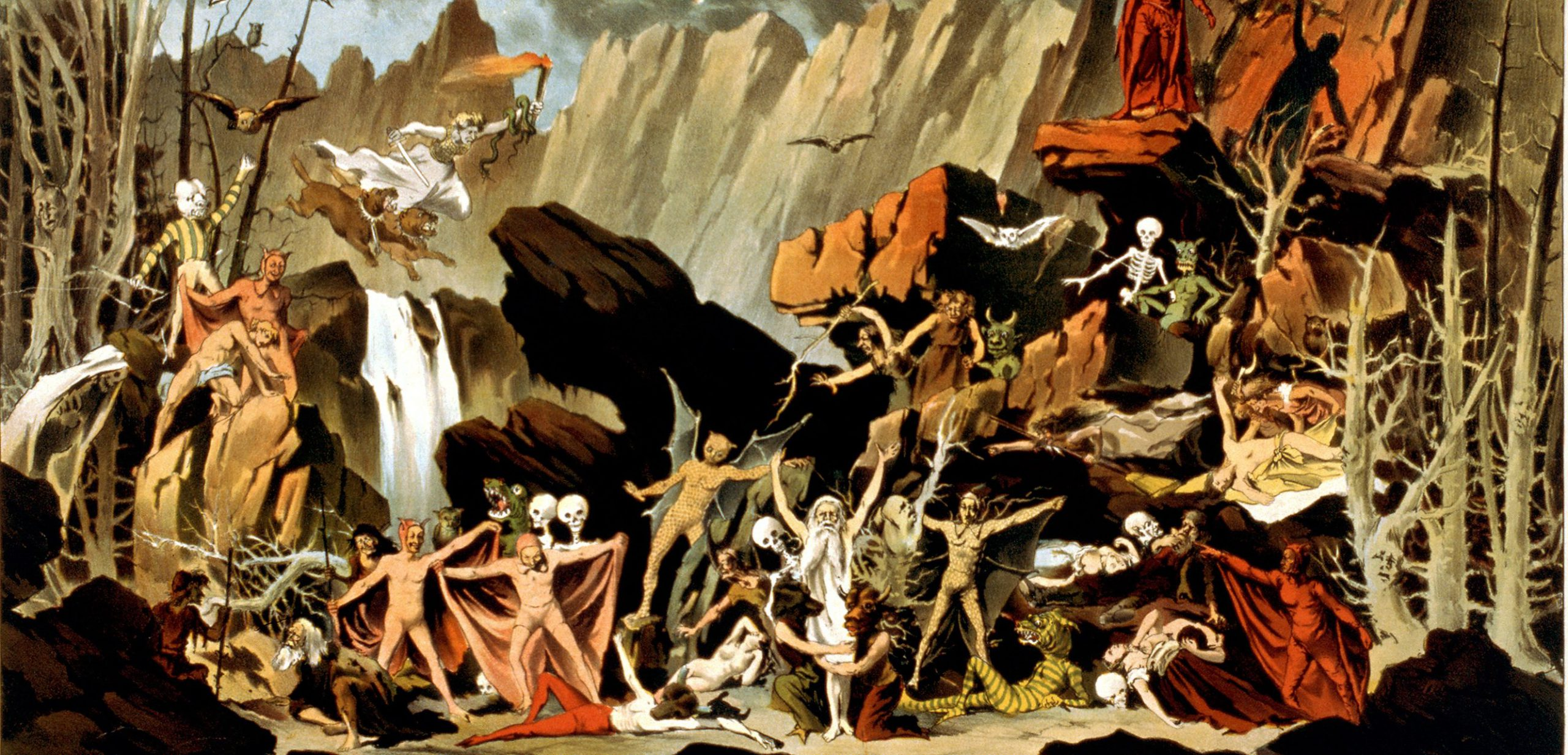 Goethe en zijn dramatische verhaal 'Faust'