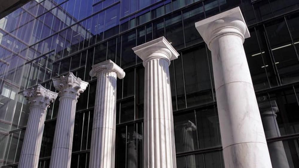 De vijf orden van architectuur in de vrijmetselarij