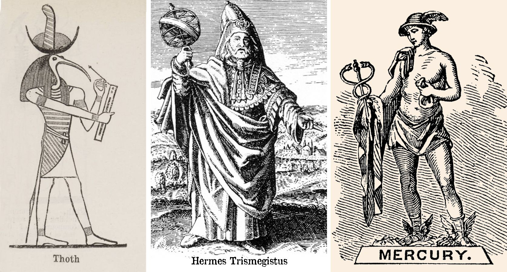 Wie is Hermes Trismegistus en Thoth?