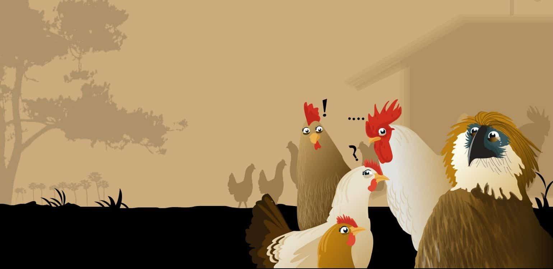 De parabel van de Adelaar en de Kippen
