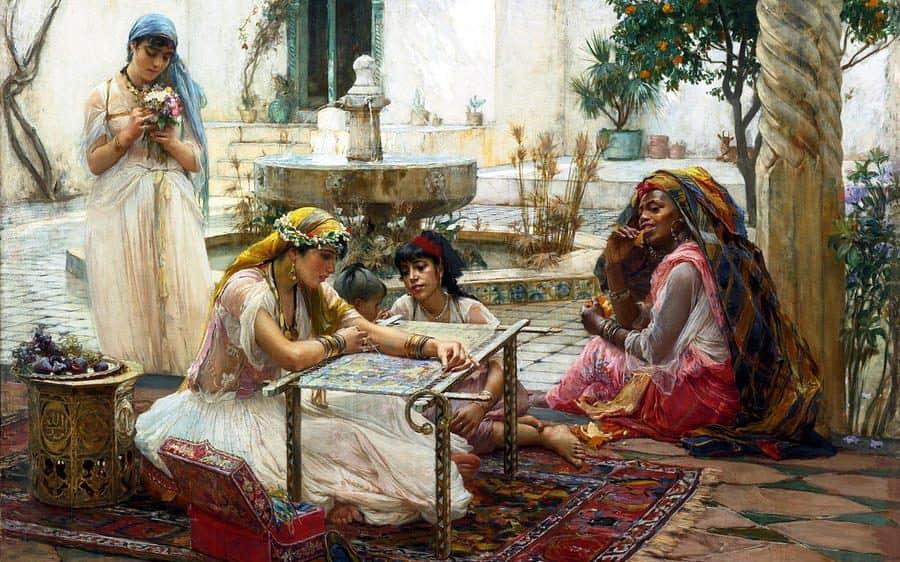 Soefi-verhaal: De vier vrouwen