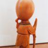 Vintage houten beeldje taoïstische wijsgeer Shou Xing 8