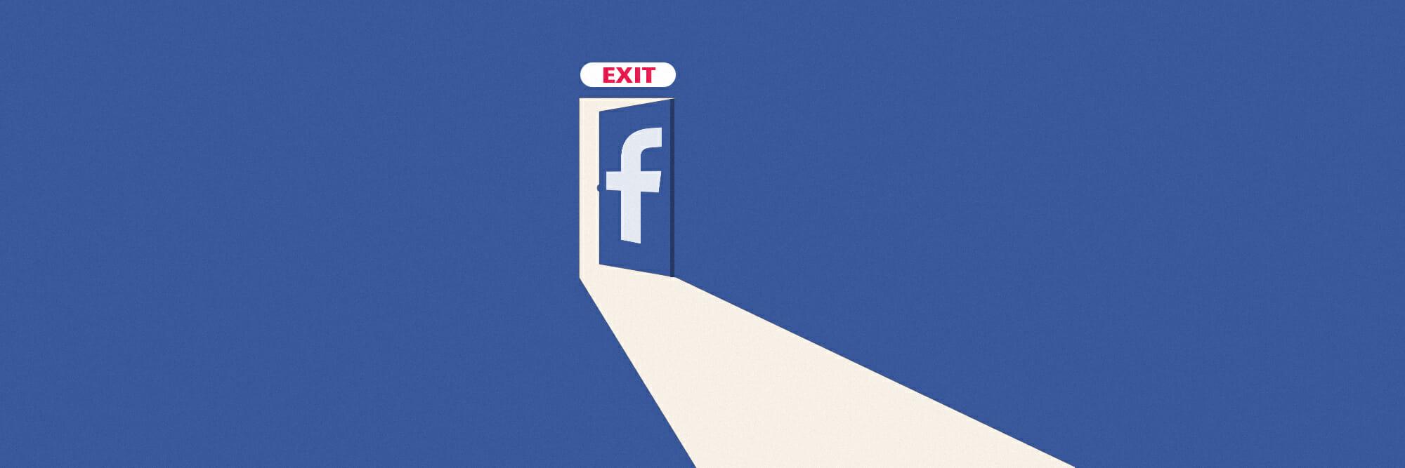 Waarom we stoppen met Facebook
