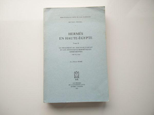 Hermes En Haute-Egypte - Tome II 1